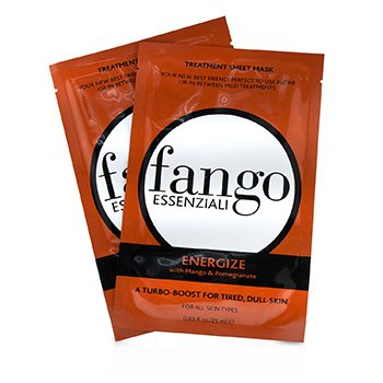 Fango Essenziali Energize Treatment Sheet Masks  4x25ml/0.83oz
