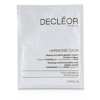 Harmonie Calm Soothing Comfort Smoothie Mask Shaker Powder - For Sensitive Skin (Salon Product)  5x20g/0.7oz