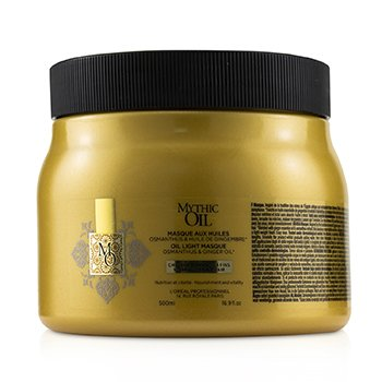 Professionnel Mythic Oil Oil Light Masque with Osmanthus & Ginger Oil (Normal to Fine Hair)  500ml/16.9oz