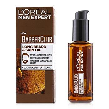 Men Expert Barber Club Long Beard & Skin Oil  30ml/1oz