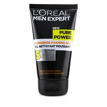 Men Expert Pure Power Foaming Gel  150ml/5oz