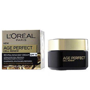 Age Perfect Cell Renew Revitalising Day Cream SPF 15  50ml/1.7oz