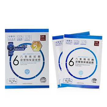 Six Essence Hyaluronic Acid Hydra Mask  7pcs