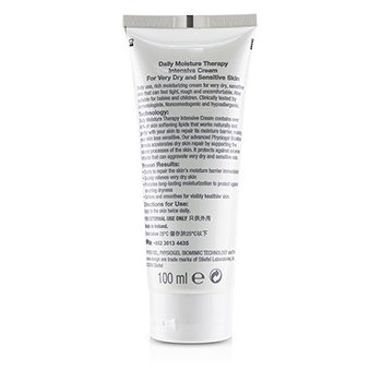 Daily Moisture Therapy Intensive Cream - For Very Dry & Sensitive Skin 100ml/3.4oz
