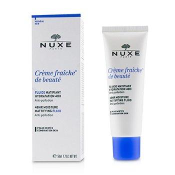 Creme Fraiche De Beaute 48HR Moisture Matifying Fluid - For Combination Skin  50ml/1.7oz
