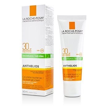 Anthelios 30 Dry Touch Gel-Cream SPF30 - For Sun-Sensitive Skin (Exp. Date 01/2020)  50ml/1.69oz