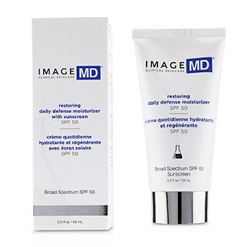 IMAGE MD Restoring Daily Defense Moisturizer With Sunscreen SPF 50  59ml/2oz