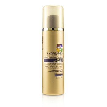 Nano Works Gold Condition (Youth-Renewing Formula For Demanding Colour-Treated Hair)  200ml/6.8oz