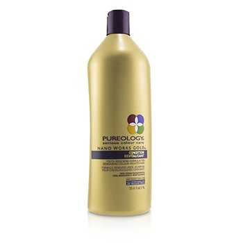 Nano Works Gold Condition (Youth-Renewing Formula For Demanding Colour-Treated Hair)  1000ml/33.8oz
