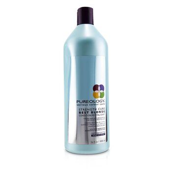 Strength Cure Best Blonde Condition (Toning and Anti-Brassiness For Colour-Treated Hair)  1000ml/34oz