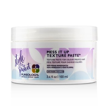 Style + Protect Mess It Up Texture Paste (For Colour-Treated Hair)  100ml/3.4oz