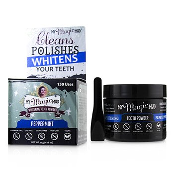 Activated Charcoal Whitening Tooth Powder - Peppermint  30g/1.06oz