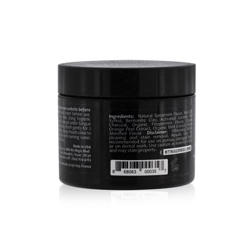 Activated Charcoal Whitening Tooth Powder - Spearmint  30g/1.06oz