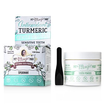 Turmeric Whitening Tooth Powder - Spearmint  40g/1.41oz