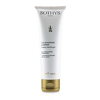 Purifying Foaming Gel - For Combination to Oily Skin, With Iris Extract  125ml/4.2oz