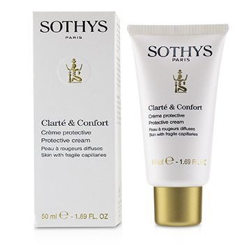 Clarte & Comfort Protective Cream - For Skin With Fragile Capillaries  50ml/1.69oz