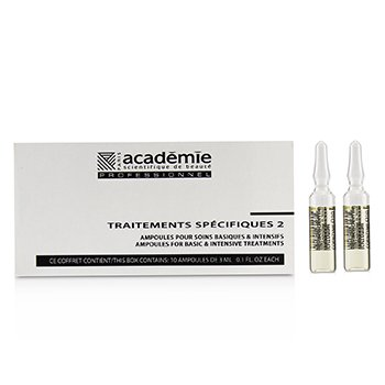 Specific Treatments 2 Ampoules Q10 Coenzyme (Oily Straw Yellow) - Salon Product 10x3ml/0.1oz