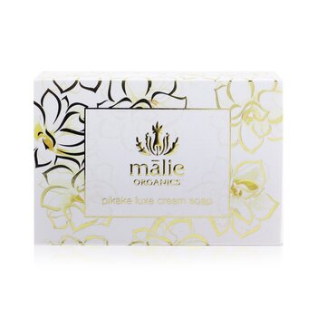 Organics Luxe Cream Soap - Pikake  4oz