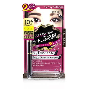 Heavy Rotation Fit Fiber In Double Eyebrow Pencil  0.39g/0.014oz