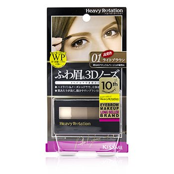 Heavy Rotation Waterproof Powder Eyebrow And 3D Nose  3.5g/0.12oz