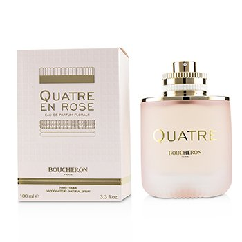 Quatre En Rose Eau De Parfum Florale Spray  100ml/3.3oz