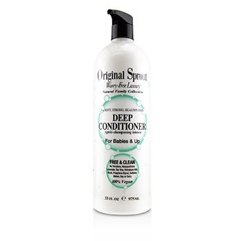 Natural Family Collection Deep Conditioner (For Babies & Up - Soft, Strong, Healthy Hair)  975ml/33oz