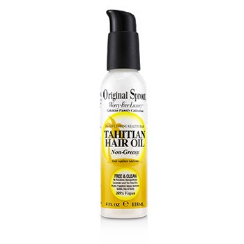 Tahitian Family Collection Tahitian Hair Oil (For Soft, Strong Healthy Hair)  118ml/4oz