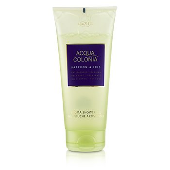 Acqua Colonia Saffron & Iris Aroma Shower Gel  200ml/6.8oz