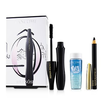 Hypnôse Mascara Eye Set (1x Hynôse Mascara 6.2ml + 1x Mini Le Crayron Khôl 0.7g +1x Bi Facil 30ml)  3pcs