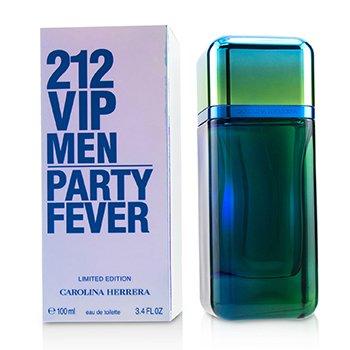 212 VIP Men Party Fever Eau De Toilette Spray 100ml/3.4oz