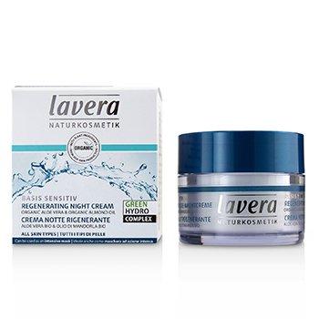 Basis Sensitiv Regenerating Night Cream - Organic Aloe Vera & Organic Almond Oil (For All Skin Types)  50ml/1.6oz