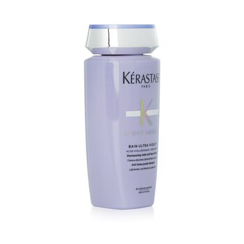 Blond Absolu Bain Ultra-Violet Anti-Brass Purple Shampoo (Lightened, Cool Blonde or Grey Hair)  250ml/8.5oz