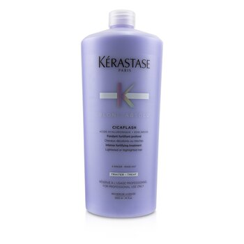 Blond Absolu Cicaflash Intense Fortifying Treatment (Lightened or Highlighted Hair)  1000ml/34oz