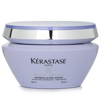 Blond Absolu Masque Ultra-Violet Anti-Brass Blonde Perfecting Purple Masque (Lightened Cool Blonde Hair)  200ml/6.8oz