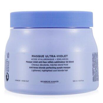 Blond Absolu Masque Ultra-Violet Anti-Brass Blonde Perfecting Purple Masque (Lightened Cool Blonde Hair)  500ml/16.9oz
