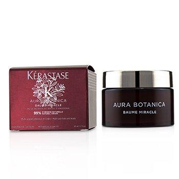 Aura Botanica Baume Miracle (Multi Uso Cabello y Cuerpo) 50ml/1.7oz