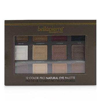 12 Color Pro Natural Eye Palette (12x Eyeshadow)  21.3g/0.73oz