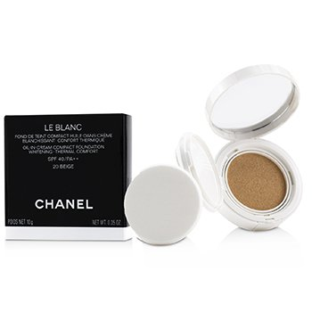 Le Blanc Oil In Cream Whitening Compact Foundation SPF 40  10g/0.35oz