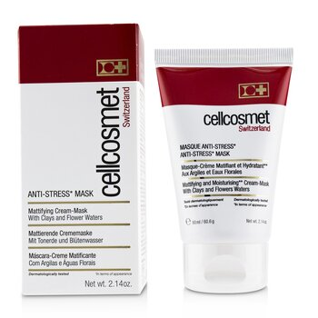 Cellcosmet Anti-Stress Mask - Ideal For Stressed, Sensitive or Reactive Skin  60ml/2.14oz