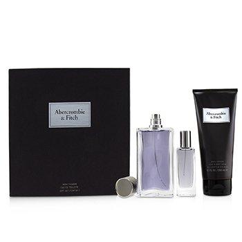 First Instinct Coffret: Eau De Toilette Spray 100ml/3.4oz + Hair & Body Wash 200ml/6.7oz + Eau De Toilette Spray 15ml/0.5oz  3pcs