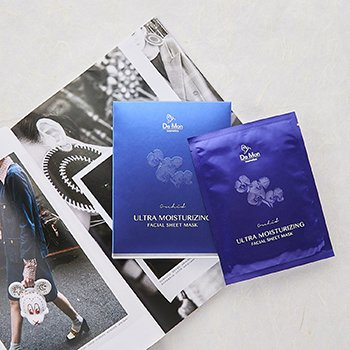 Ultra Moisturizing Facial Sheet Mask  3x25ml/0.8oz