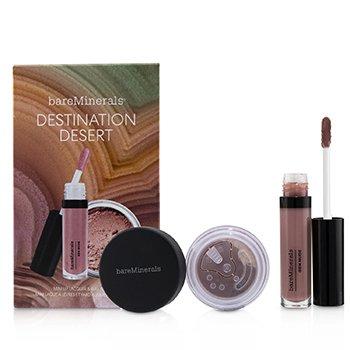 Destination Desert (1x Mini Lip Lacquer, 1x Blush)  2pcs
