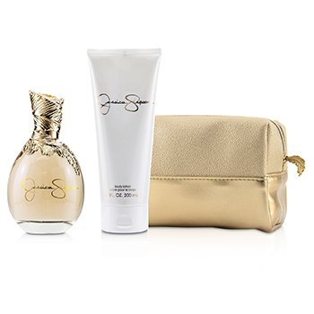 Signature Coffret: Eau De Parfum Spray 100ml/3.4oz + Body Lotion 200ml/6.7oz + Cosmetic Bag  2pcs+Bag