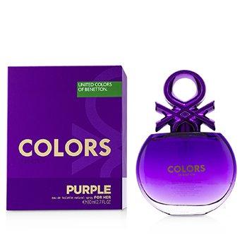 Colors Purple Eau De Toilette Spray  80ml/2.7oz