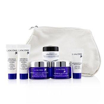 Renergie Travel Set: Redifining Lifting Cream + Full Spectrum Cream + Full Spectrum Serum + Firming Eye Cream + Genifique Eye Cream + Bag  6pcs+1bag