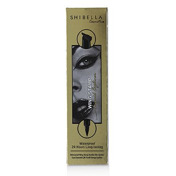 Waterproof 24 Hours Long Lasting Wing Stamp Eyeliner Double Side Eyeliner – Thick Stamp  4.5ml/0.1587oz