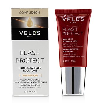 Flash Protect Skin Glow Fluid Roll -Tone (Beauty Shield) - Fair Skin Nude  30ml/1oz