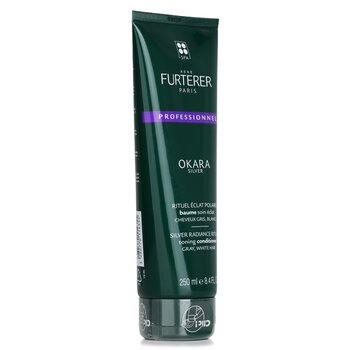 Okara Silver Silver Radiance Ritual Toning Conditioner - Gray, White Hair (Salon Product)  250ml/8.4oz