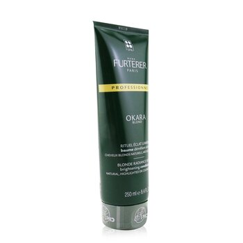 Okara Blond Blonde Radiance Ritual Brightening Conditioner - Natural, Highlighted or Coloured Blonde Hair (Salon Product)  250ml/8.4oz