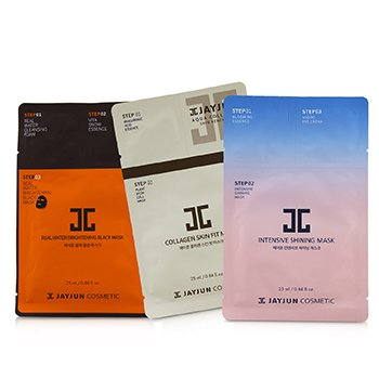 Best Seller Mask Set (2x Intensive Shining, 2x Real Water Brightening, 2x Collagen Skin)  6sheets